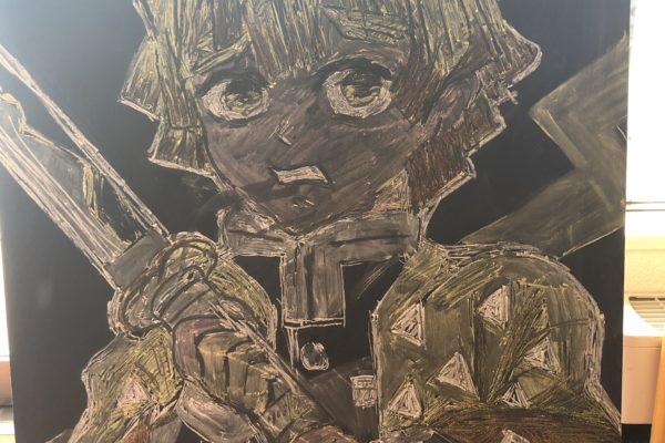 黒板アート更新